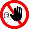 draudžiama eiti įeiti lipdukas lipduku pasaulis